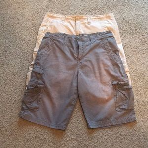 2 pair men's shorts size 36